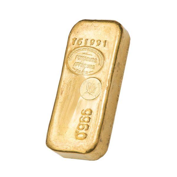 Achat de Lingot d'Or 1 kilo