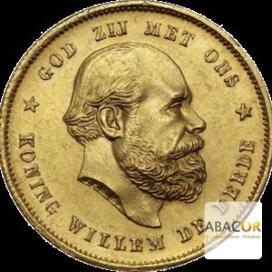 10 Florins Or - 10 Gulden Or William III