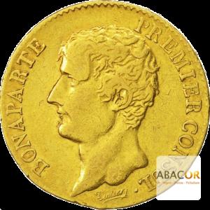 20 Francs Or Bonaparte Premier Consul