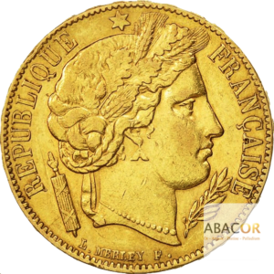 20 Francs Or Cérès