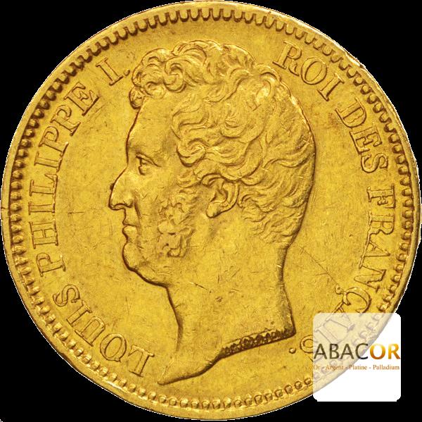 20 Francs Or Louis Philippe Ier Tête Nue