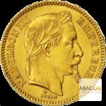 Comment acheter des napoléons 20 Francs Napoléon III Tête Laurée