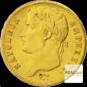 20 Francs Or Napoléon Ier Tête Laurée (Revers Empire)