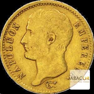 20 Francs Or Napoléon Ier Tête Nue 1806 - 1807