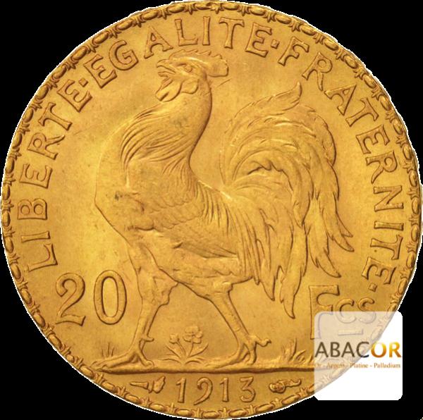 20 Francs Napoléon (Louis d'Or)