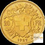 pièces d'or Suisse