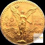 50 Pesos pièces d'or