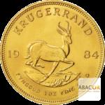 Krugerrand pièces d'or Sud Afrique