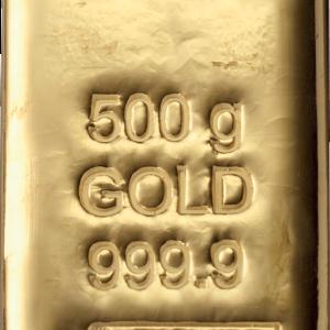 Lingotin Or 500 grammes