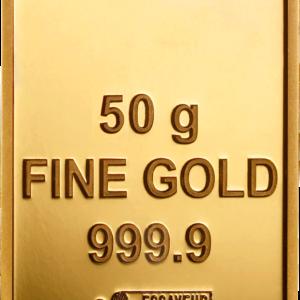 Lingotin Or 50g