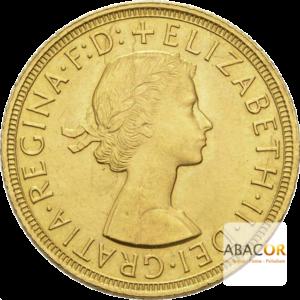 Souverain Or Elisabeth II