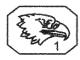 Poinçon Or 22 Carats Aigle 1