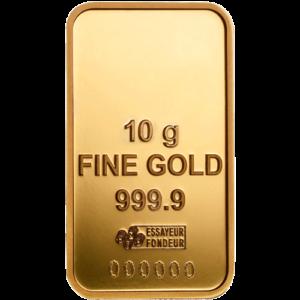 Lingotin d'Or de 10 g