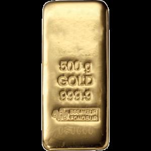 Lingotin d'Or de 500 grammes