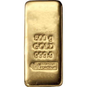 Lingot d'Or de 500 grammes