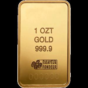 Lingotin d'une Once d'Or