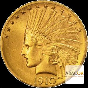 10 Dollars Or (1908-1933) Tête d'Indien In God We Trust