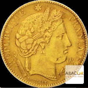 10 Francs Or Cérès IIème République