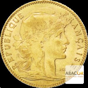 10 Francs Or Coq Marianne