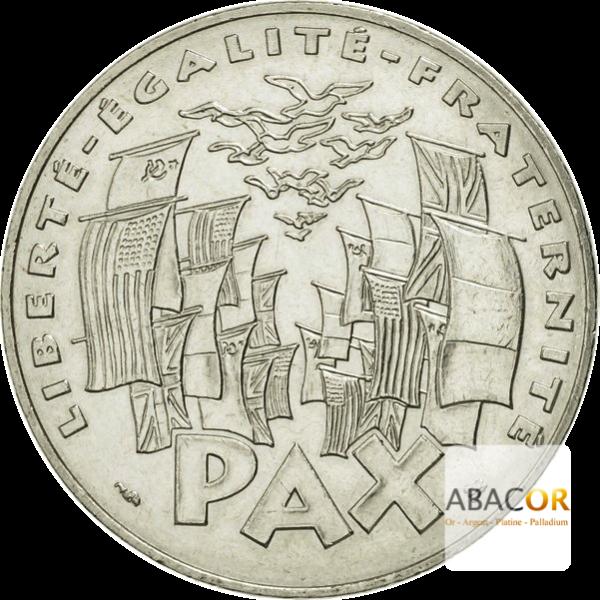 100 Francs Argent 8 mai 1945