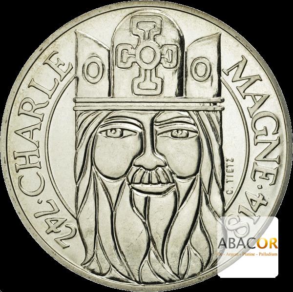 100 Francs Argent Charlemagne
