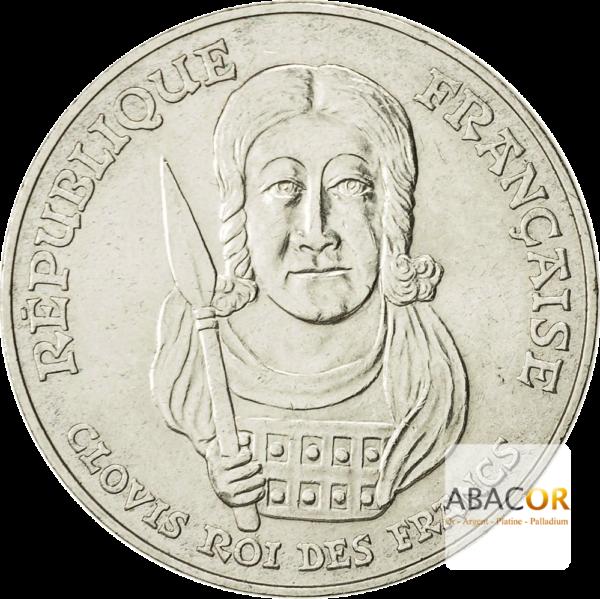 100 Francs Argent Clovis