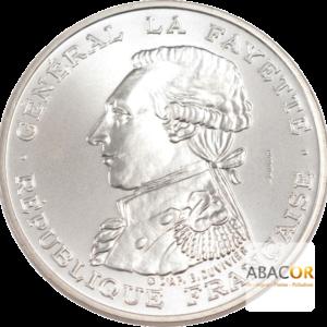 100 Francs Argent Egalité - La Fayette