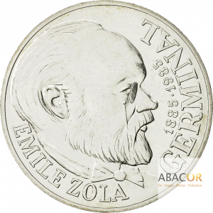 100 Francs Argent Emile Zola