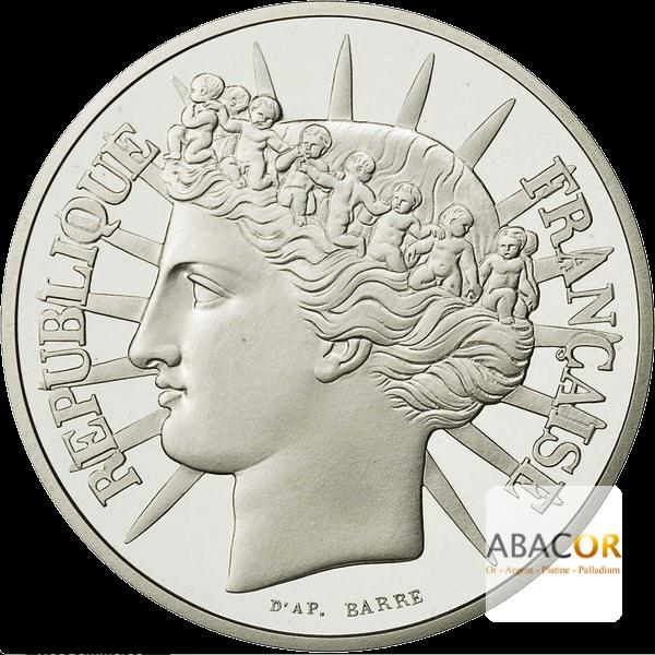 100 Francs Argent Fraternité
