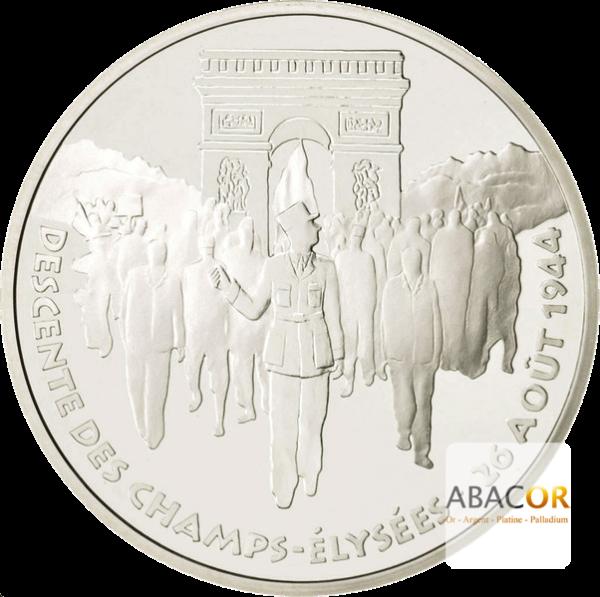 100 Francs Argent Libération de Paris