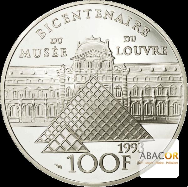 100 Francs Argent Liberté Guidant le Peuple