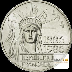 100 Francs Argent Liberté