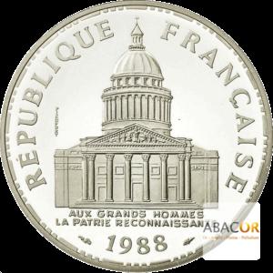 100 Francs Argent Panthéon