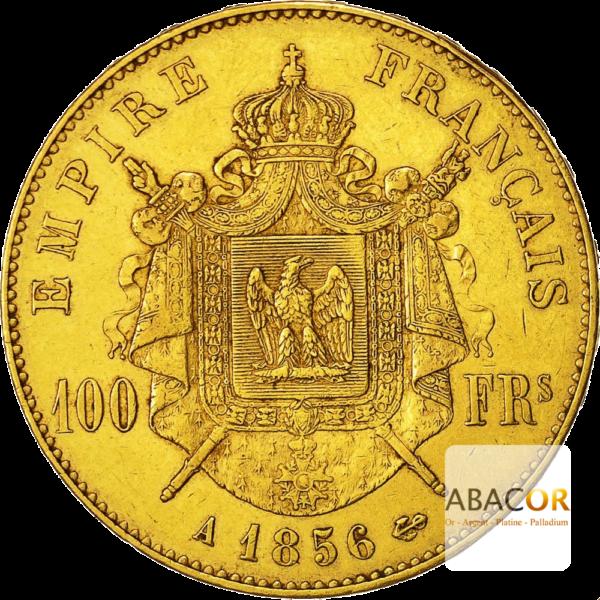 100 Francs Or Napoléon III Tête Nue