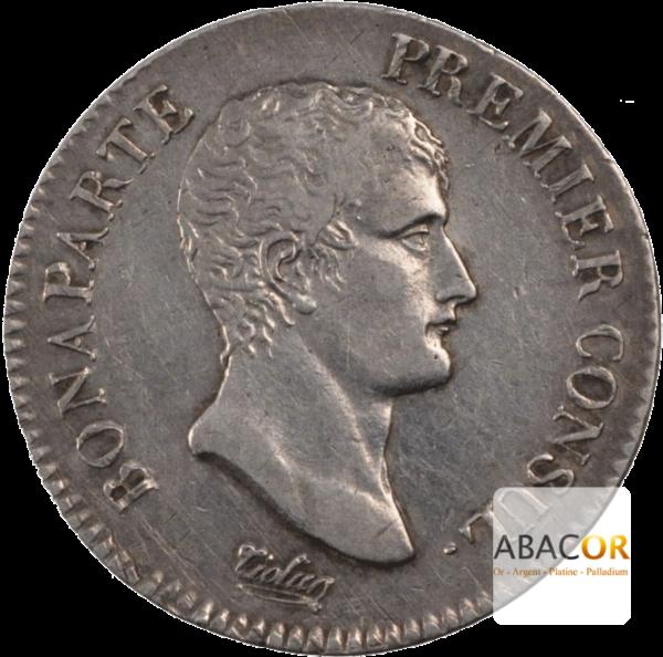 2 Francs Argent Bonaparte Premier Consul