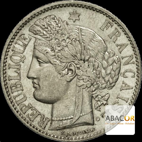 2 Francs Argent Cérès IIème République