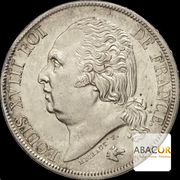 2 Francs Argent Louis XVIII