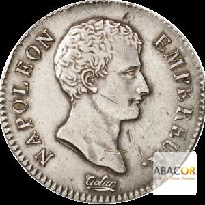 2 Francs Argent Napoléon Empereur 1806 - 1807