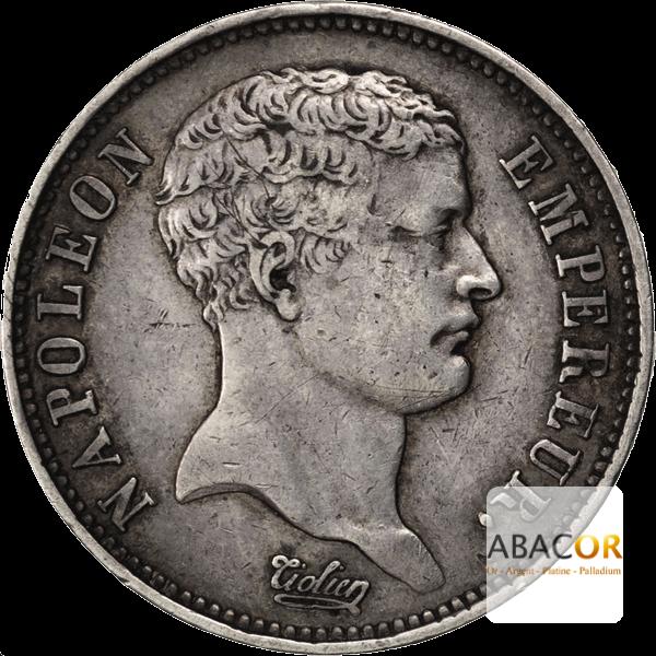 2 Francs Argent Napoléon Empereur Tête de Nègre
