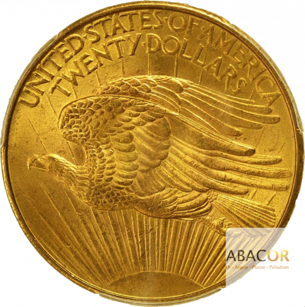 20 Dollars Or (1907-1908) Saint-Gaudens