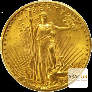 20 Dollars Or (1908-1933) Saint-Gaudens In God We Trust