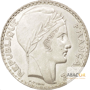 20 Francs Argent Turin