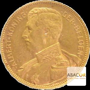 20 Francs Or Belge Albert I