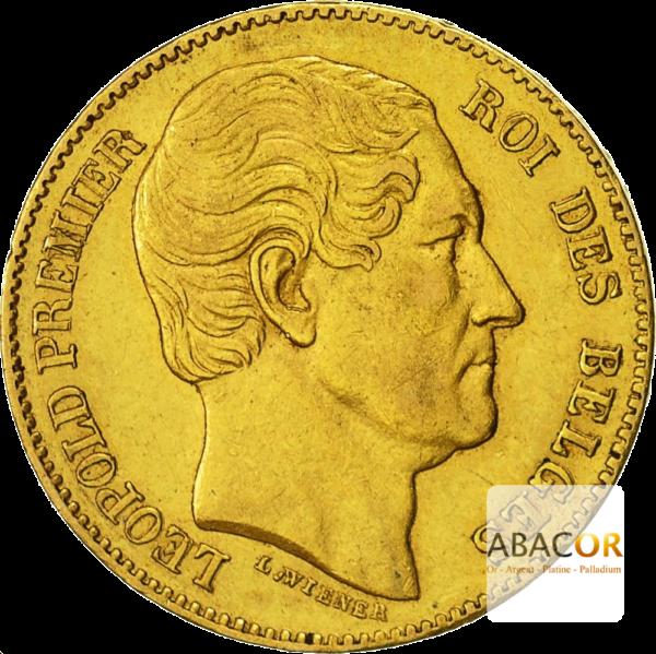 20 Francs Or Belge Leopold Ier