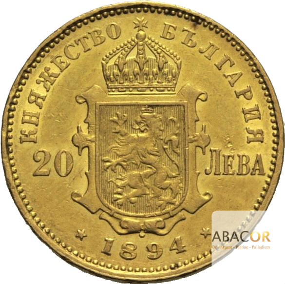 20 Leva Or Ferdinand Ier