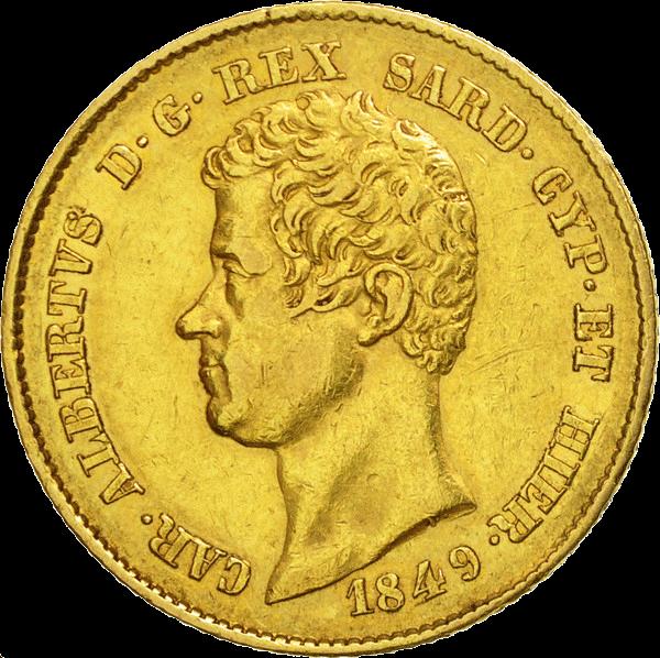 20 Lires Or Charles-Albert