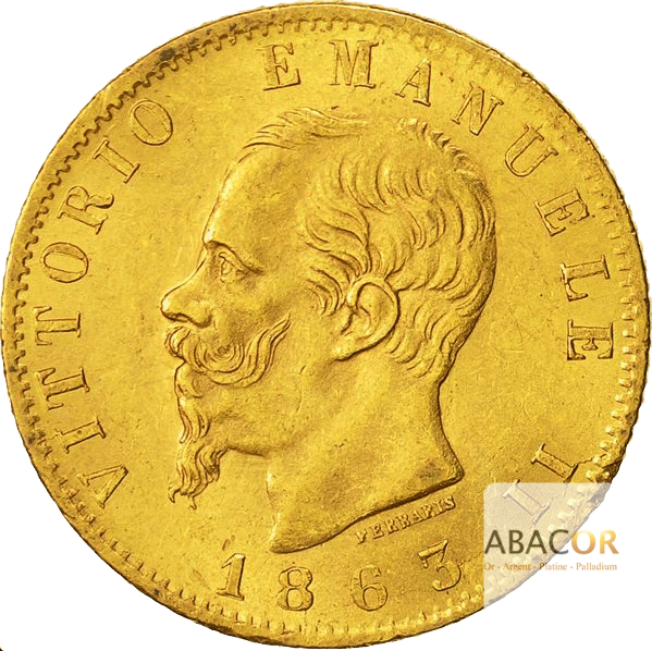 20 Lires Or Victor Emmanuel II