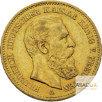 20 Mark Or Friedrich III Prusse