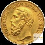 20 Mark Or Friedrich I Baden