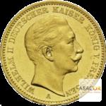 20 Mark Or Wilhelm II Prusse